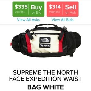 Supreme  tnf expedition waist bag